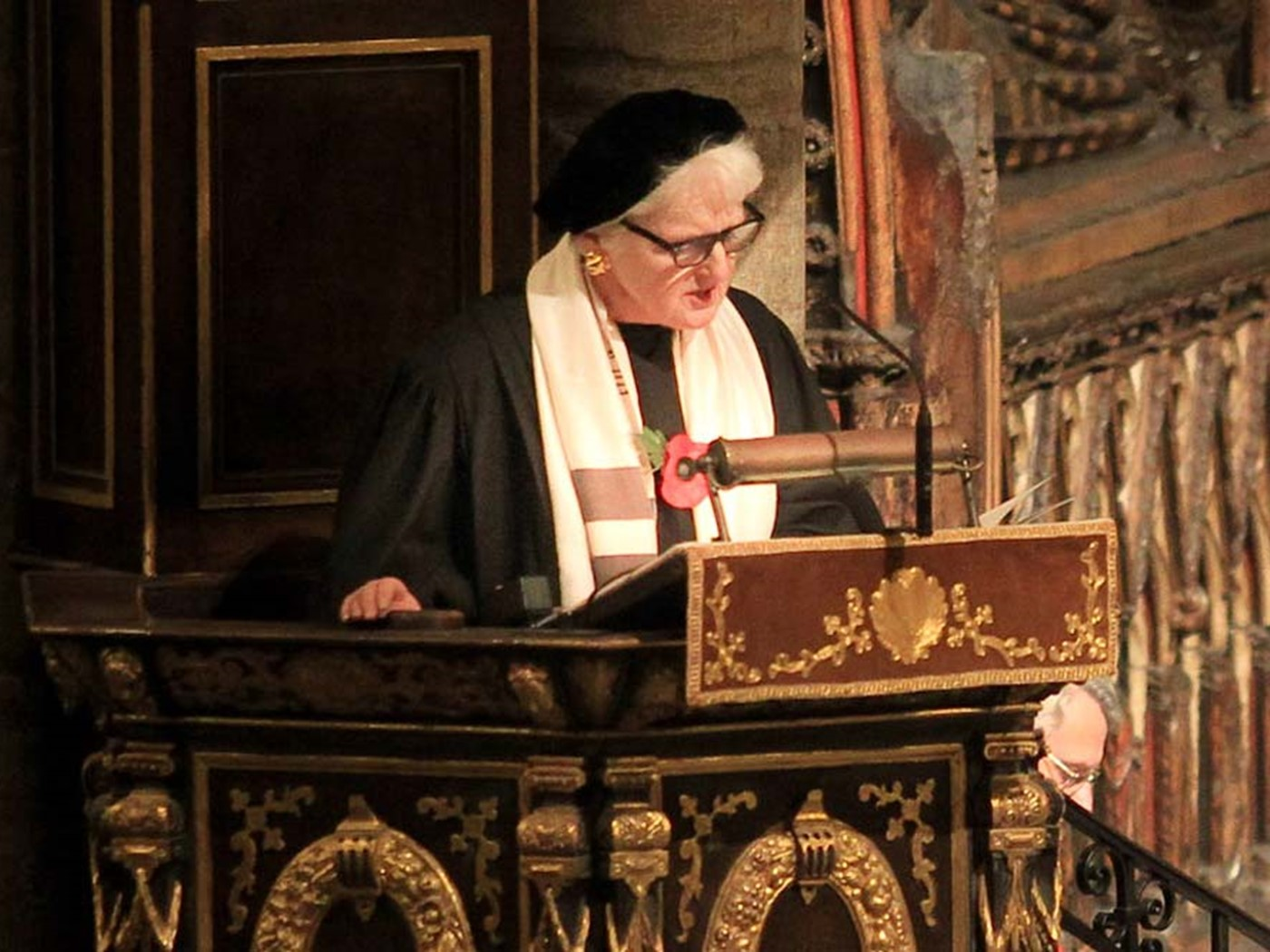 Rabbi Baroness Neuberger DBE, West London Synagogue, gives a Reflection