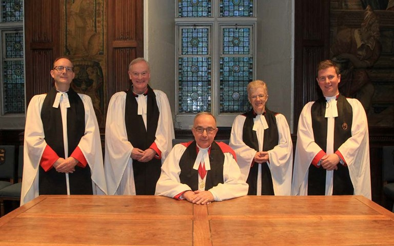 The Reverend Dr James Hawkey installed as Canon Theologian