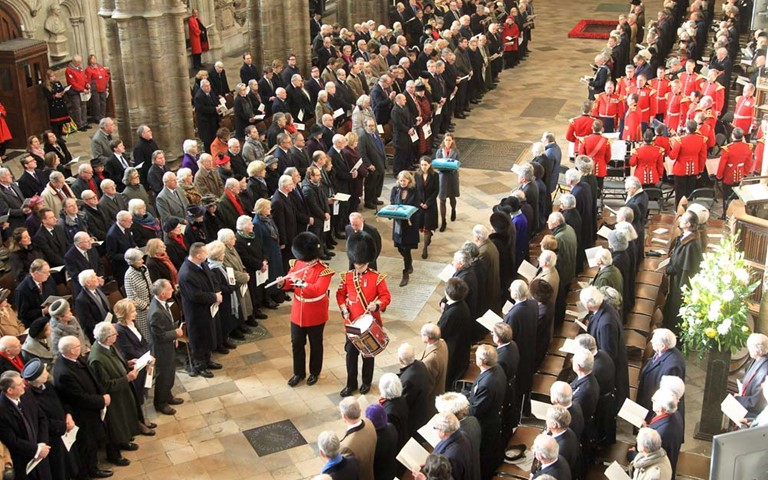 Lord Carrington remembered at Westminster Abbey service